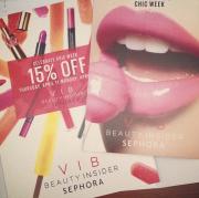 VIB Sephora Mailer